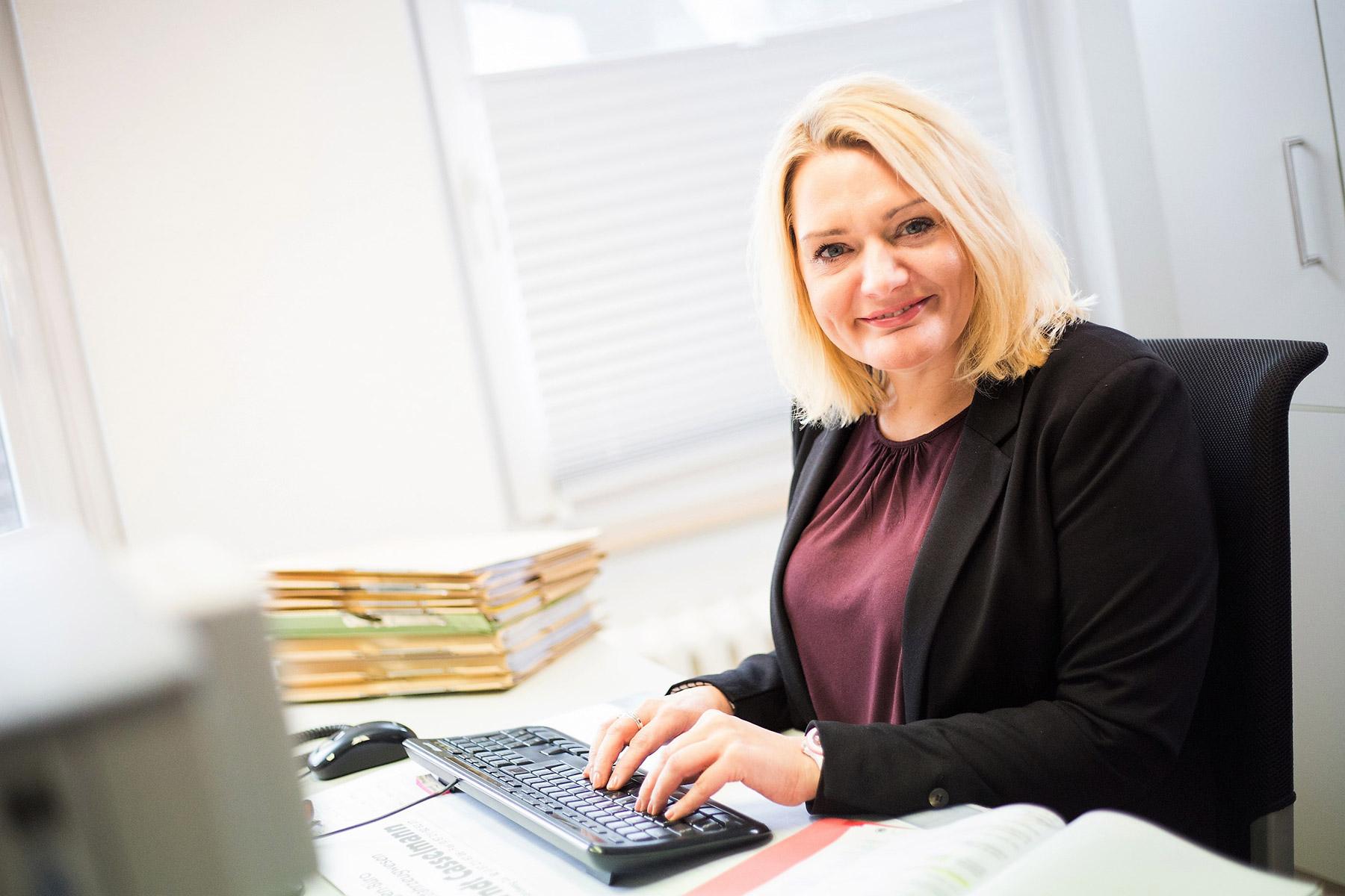 Sandra Brinkmann - Rechtsanwalts- und Notarfachangestellte
